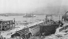 100 years ago today the city of Halifax was flattened by one of the largest artificial non-nuclear explosions to date (December 6 Famous Court Cases, Halifax Explosion, The Mont, Canadian History, Canada, New Brunswick, Modern History, Prussia, Mont Blanc