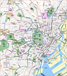 Map of Tokyo