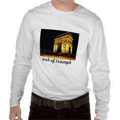 arch of triumph tee shirt http://www.zazzle.com/arch_of_triumph_tee_shirt-235304649531479440?lang=es