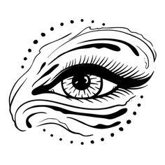 WIP. Logo eyedea. #kieltillmanart #illustration #logo #design #eye #brand #branding #digitalillustration #drawing #blackandwhite