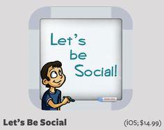 Let's Be Social: Social Skills Development | ADHD Social Skills Apps