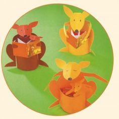 Traktatie van Kangoeroe - Kinderfeestje Thuis