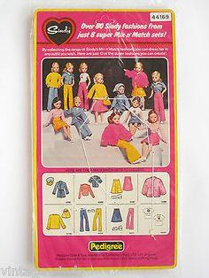 Sindy MIX N' MATCH 1977 #44169 MOC | Vintage Pedigree Sindy Doll
