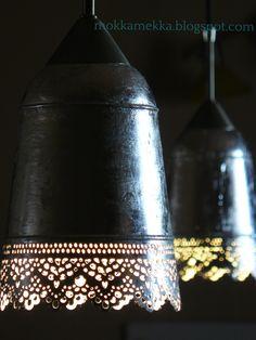 Wonderful Lights  My newest IKEA Hack - Skurar Plant Pot's changing with Silver Leaf Technics
