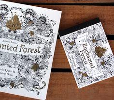 Enchanted Forest goodies! #enchantedforest #coloringbook #book #postcardbook #postcard Postcard Book, Fine Paper, Paper Gifts, Enchanted, Coloring Books, Goodies, Postcards, Illustration, Vintage Coloring Books