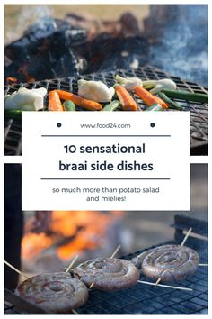 Our top 10 braai sides for your amazing braai. South African Braai, South African Dishes, South African Recipes, Veggie Side Dishes, Potato Dishes, Side Dish Recipes, Dinner Recipes, Camping Dishes, Camping Meals