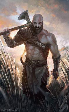 Old Man Kratos - Raivis Draka
