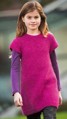 Strik en tunika til en pige | Familie Journal