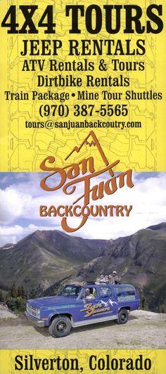 Brochure Online, Local Activities, Brochures, Colorado, Tours, Country, San Juan, Aspen Colorado, Rural Area