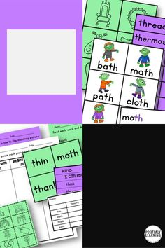 Student retention is a REAL thing, especially with early phonics skills. The visuals in this digraph set will be sure to increase engagement! There are hands-on games and activities for small groups and centers, plus data tracking and Seesaw sorts! #digraphs #phonics #seesaw