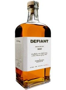 """Defiant American Single Malt #Whisky.  Crafted in the Blue Ridge Mountains, this whisky is """"insanely smooth and round, tasting more like a #bourbon than any other spirit distilled from barley,"""" according to The Huffington Post. 