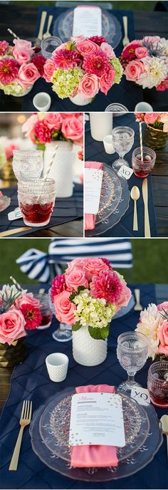 Pink Wedding Ideas.  Pinned by Afloral.com from http://styleunveiled.com/monte-de-oro-is-a-beautiful-temecula-wedding-venue/ ~Afloral.com has high-quality silk flowers and hobnail vases for your DIY wedding.