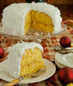 Coconut Cake......a favorite childhood memory!