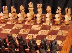 Chess set  Naturalchess