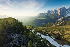 """Bathed in Light - """"Bathed in Light"""" - Austrian Alps  Is there anything more refreshing than a dip in warm light?  Prints and licensing available.  <a href=""""https://www.facebook.com/StefanHefelePhotography"""">Facebook Fan Site</a>  <a href=""""http://www.stefan-hefele.de/en/news.html"""">www.stefan-hefele.de</a>"""