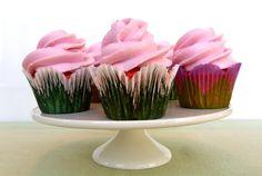 Pink Velvet Cupcakes #baking