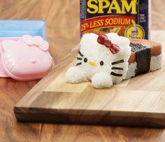 Hello Kitty Spam Musubi Kit