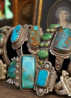 Love turquoise jewelry, really big in my family.