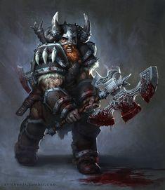Viking by erickenji.deviantart.com on @deviantART