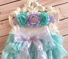 2pcs Aqua baby Bloomer set,Aqua Lace Bloomer,Aqua lace diaper cover,newborn bloomers,Baby outfit,newborn outfit, ruffle bloomers,cake smash