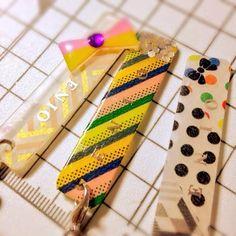 不器用さんでも簡単に出来る☆マスキングテープを使ったプラ板アクセが可愛い!