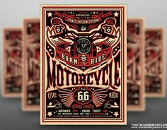 """Check out new work on my @Behance portfolio: """"Motorcycle Road Trip Flyer Template V2"""" http://be.net/gallery/33785624/Motorcycle-Road-Trip-Flyer-Template-V2"""