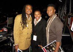 Clive Mathibe, Motlatsi Motsilanyane and Lebo Toko
