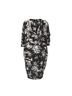 Hesina graphic dress