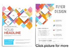 Abstract geometric design template layout for magazine brochure flyer booklet cover annual report in size. Essay Template, Resume Template Free, Templates, Business Cards And Flyers, Business Flyer, Flyer Printing, Card Printing, Narrative Essay, Good Essay