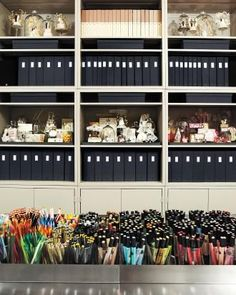 13 ways to organize craft supplies.