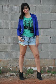 Look: jeans e blazer! - Blog Toda Fútil