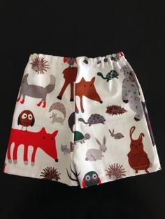 'Woodland' Baby Boy Shorts. $13.50 (FREE Shipping within Australia). Handmade. Find us on Facebook; BoyCot Baby.