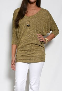 Intermingle V-Neck Top More Colors Available