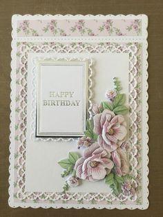 VYUTXA Lace Rectangle Frame Metal Cutting Dies Stencils for DIY Scrapbooking/photo album Decorative Felt Crafts Patterns, Felt Crafts Diy, Scrapbooking Photo, Diy Scrapbook, Birthday Cards For Women, Handmade Birthday Cards, Paper Cards, Diy Paper, Tattered Lace Cards