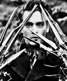 Johnny Depp. Edward Scissor Hands<3