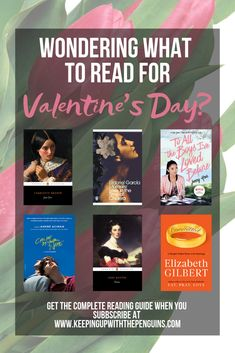 Romantic Reads For Valentine's Day Classics To Read, Valentines Day Book, Feminist Books, Clean Book, What To Read, Classic Books, Fiction Books, Book Recommendations, Book Lists