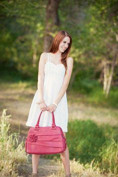 Camera bag Rose Raspberry