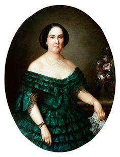 Don Federico de Madrazo y Kuntz - Retrato de dama