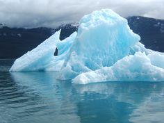 Touch an iceberg.