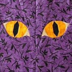 Looking for your next project? You're going to love Halloween Cat Eyes - Paper Piecing by designer soma1773.