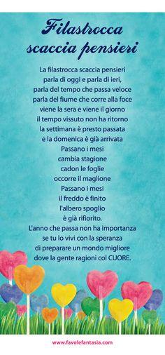 Italian Language, Learning Italian, Reading Material, Nursery Rhymes, Montessori, Fairy Tales, Crafts For Kids, Teaching, Humor