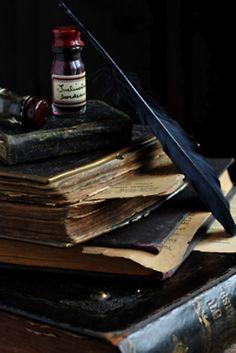 Art Inspirations: Books & Writting Instruments