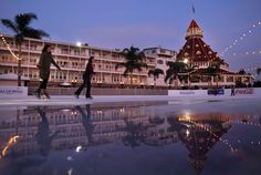 ICE SKATING AT HOTEL DEL IMAGES - Google Search