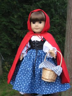 Little Red Riding Hood for your American Girl doll