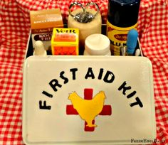 Fresh Eggs Daily®: The All-Natural Chicken First Aid Kit - Ten Essential Items