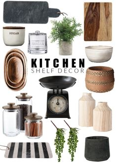 Home Decoration Ideas Minimalist Beautiful home decor to perfectly style open kitchen shelves! Decoration Ideas Minimalist Beautiful home decor to perfectly style open kitchen shelves! Kitchen Countertop Decor, Kitchen Shelf Decor, Kitchen Shelves, Kitchen Decorating, Decorating Bathrooms, Hallway Decorating, Stylish Kitchen, Kitchen Sale, Küchen Design
