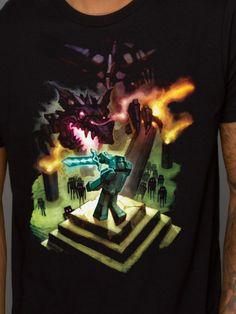 #Minecraft Enderdragon T-shirt from J!NX