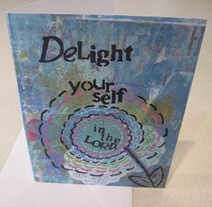 Delight Yourself in