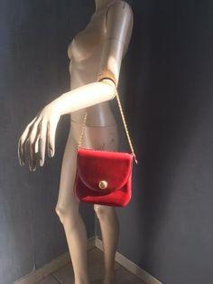 DELVAUX - sublime sac vintage, cuir rouge. Modèle déposé, UNIQUE.   eBay 60b1c347526