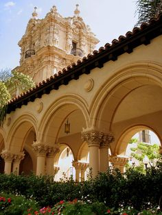Balboa Park, San Diego. Went here at night and it's beautiful